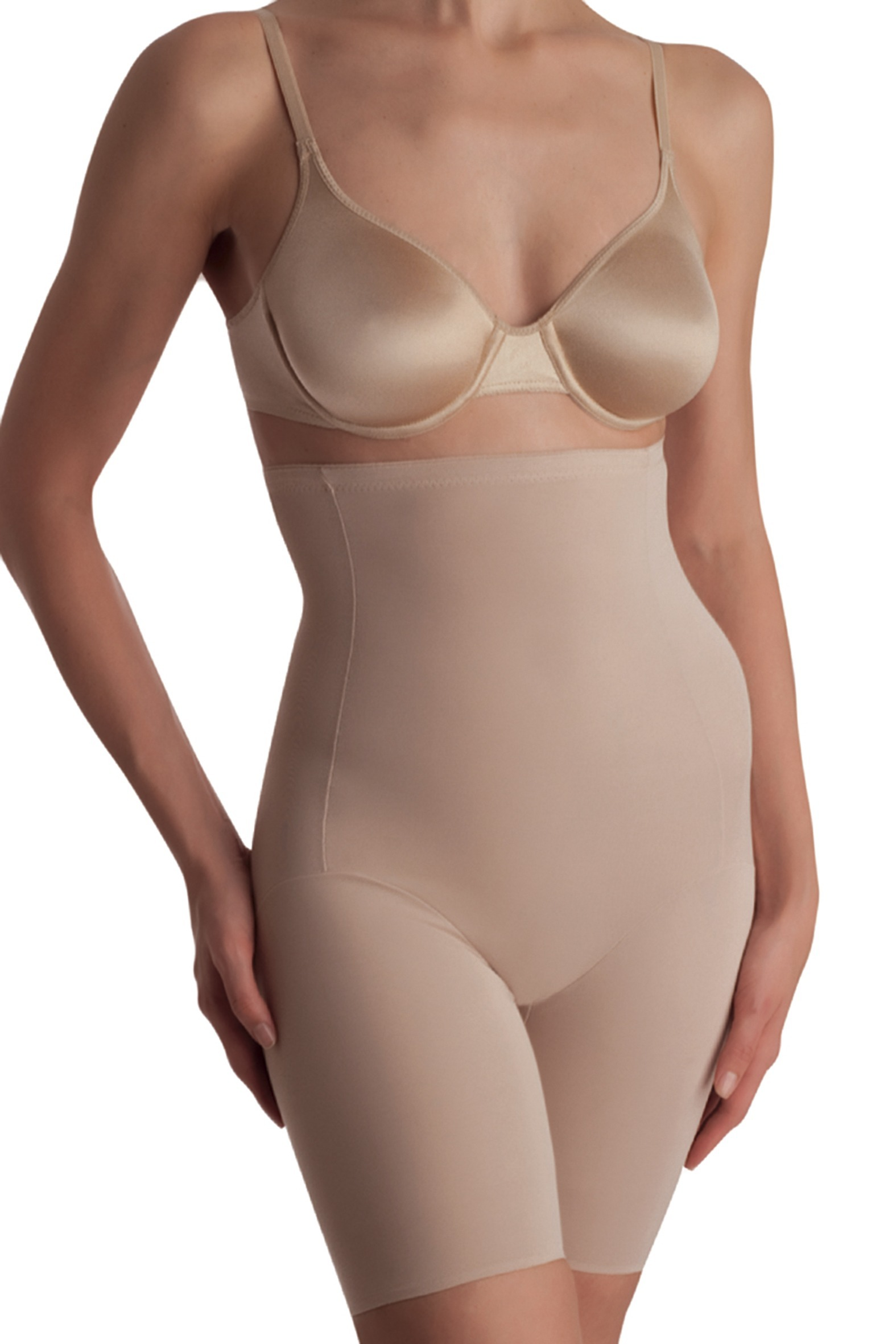 Naomi & Nicole Firm Control High-Waist Thigh Slimmer 779